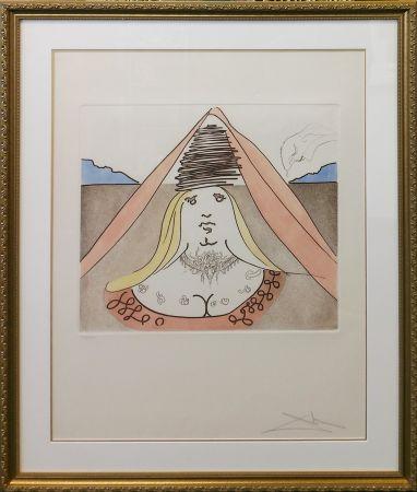 Eau-Forte Et Aquatinte Dali - THE LADY DULCINEA