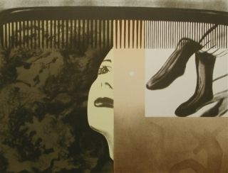 Lithographie Rosenquist - The light that won't fail i