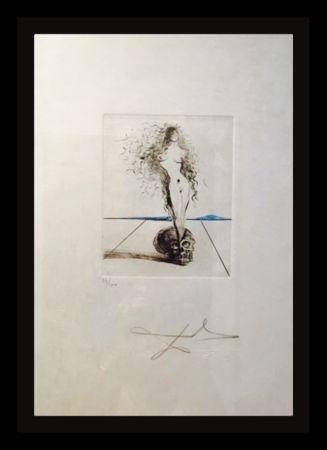 Gravure Dali - The Magicians Vanite