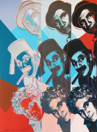 Sérigraphie Warhol - THE MARX BROTHERS FS II.232