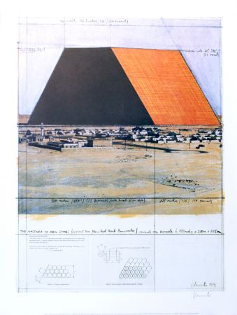 Aucune Technique Christo - THE MASTABA OF ABU DHABI