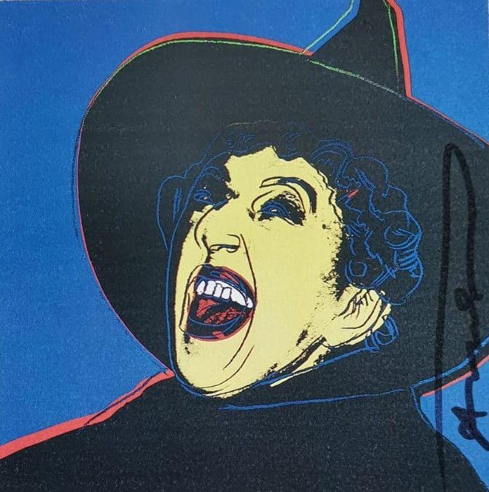 Sérigraphie Warhol - The Mitch