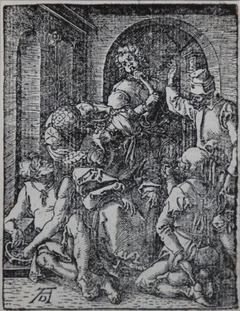 Gravure Sur Bois Durer - The Mocking of Christ (The Small Passion), 1612