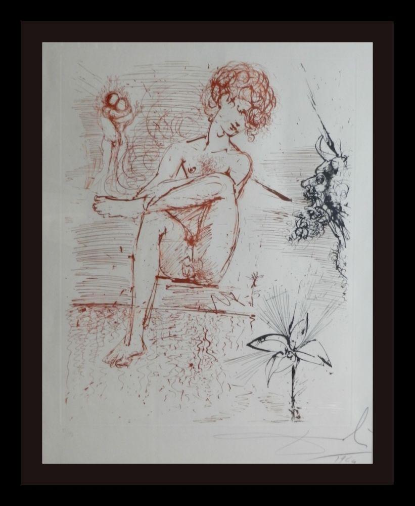 Gravure Dali - The Mythology Narcissus