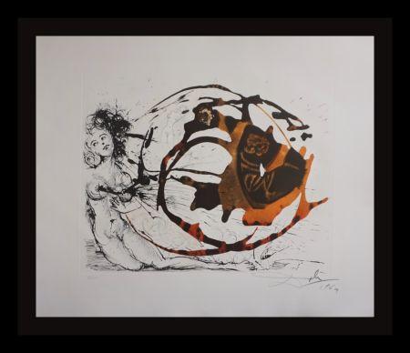 Gravure Dali - The Mythology The Milky Way