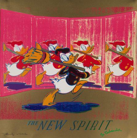 Sérigraphie Warhol - The New Spirit (FS II.357)