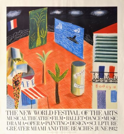 Aucune Technique Hockney - The New World Festival of the Arts, Miami