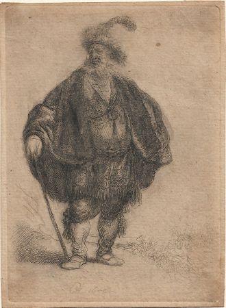 Gravure Rembrandt - The Persian