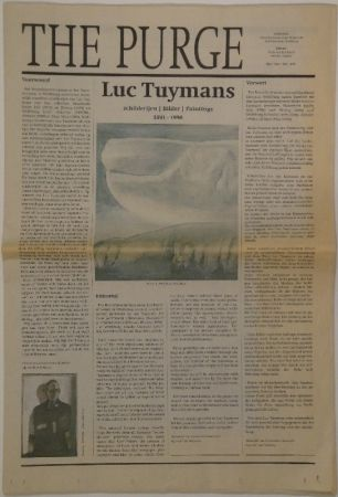 Livre Illustré Tuymans - The Purge – schilderijen / Bilder / Paintings 1991 - 1998