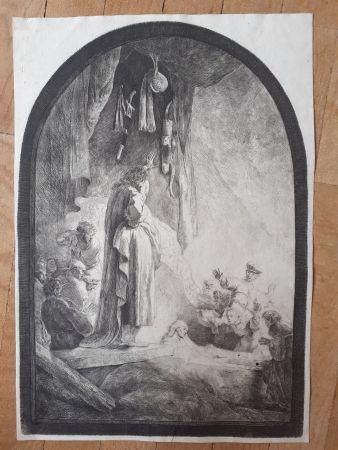 Gravure Rembrandt - The Raising of Lazarus