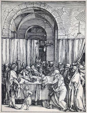 Gravure Sur Bois Durer - The Rejection of Joachim's Offering (The Life of the Virgin), c. 1504