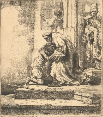 Gravure Rembrandt - The Return of the Prodigal Son