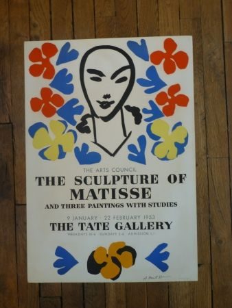 Affiche Matisse - The sculpture of Matisse,Tate Gallery