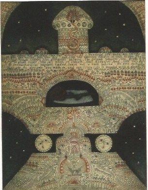 Gravure O'donoghue - The Shrine