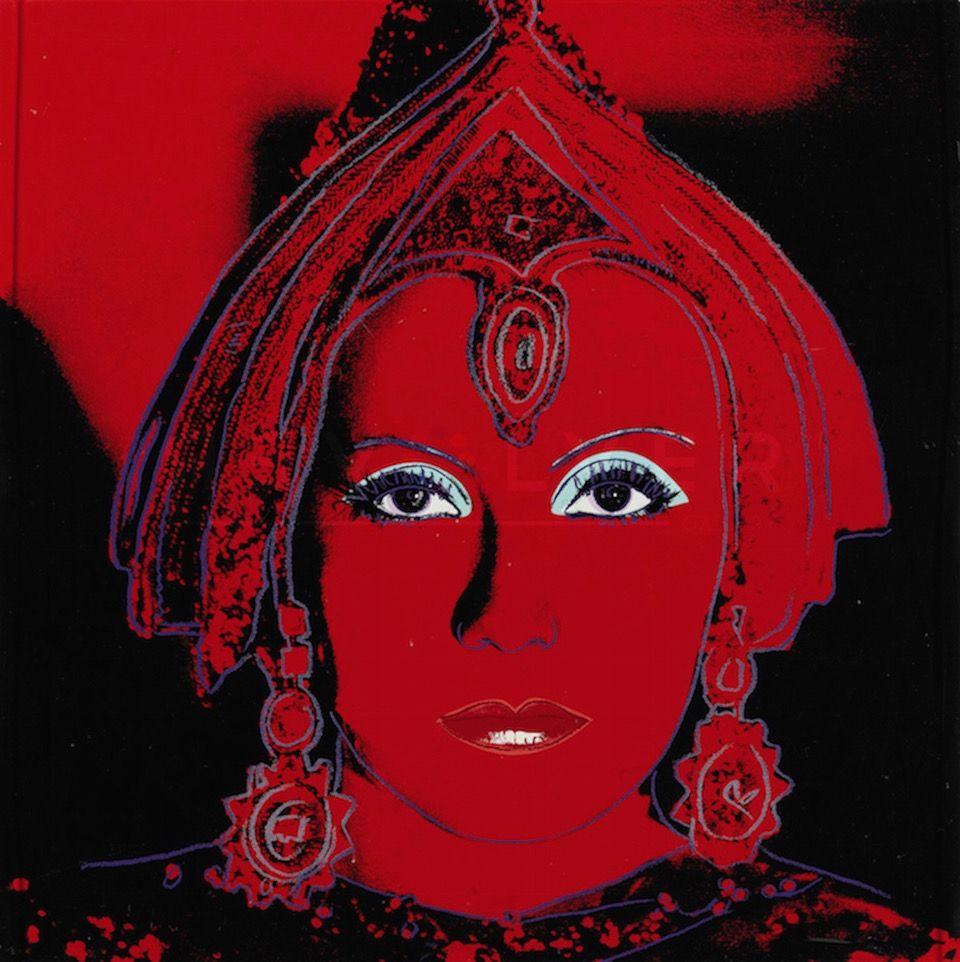 Sérigraphie Warhol - The Star (FS II.258)
