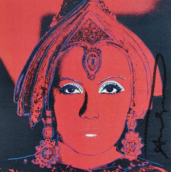 Sérigraphie Warhol - The Star