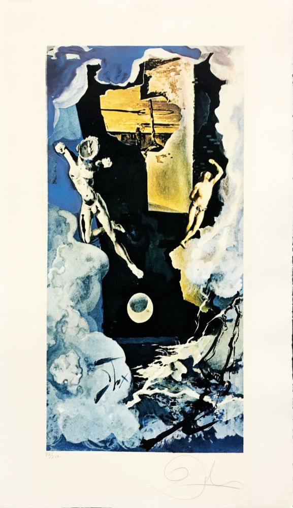 Lithographie Dali - The Tower