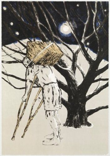 Lithographie Martinez Celaya - The Tree