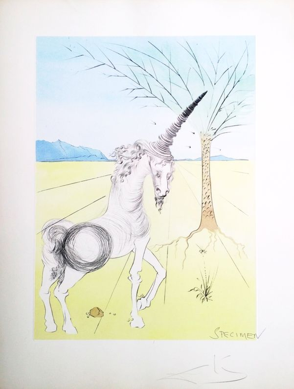 Lithographie Dali - The Twelve Tribes of Israel/  Joseph (23)