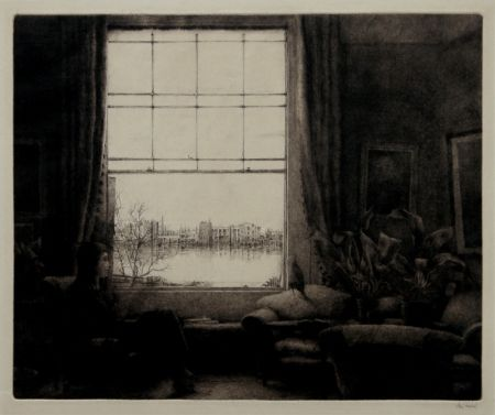Gravure Fridell - The Window, Wauxhall, London