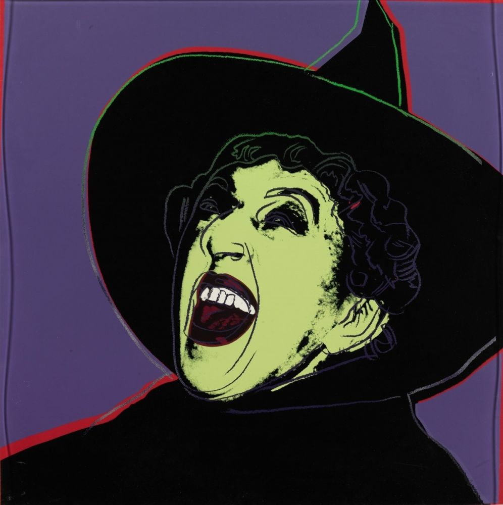 Sérigraphie Warhol - The Witch (FS II.261)