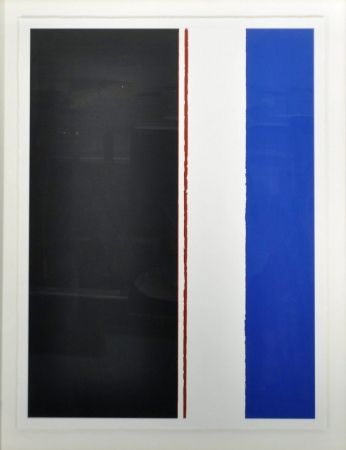 Sérigraphie Newman - The word II, 1954 by Barnett Newman
