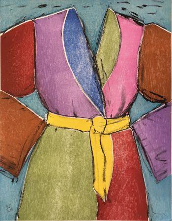 Gravure Sur Bois Dine - The Yellow Belt