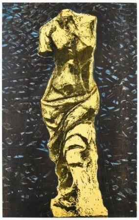 Gravure Sur Bois Dine - The Yellow Venus