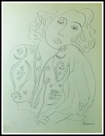Lithographie Matisse - THEMES & VARIATIONS I