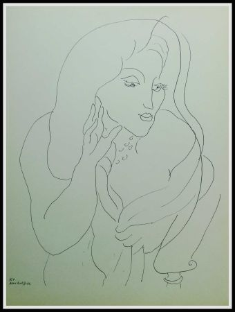 Lithographie Matisse - THEMES & VARIATIONS II