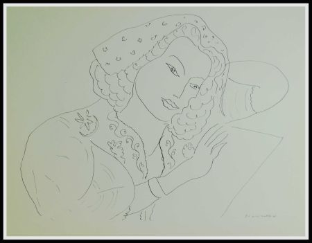 Lithographie Matisse - THEMES & VARIATIONS III