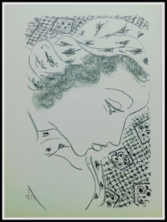 Lithographie Matisse - THEMES & VARIATIONS IX