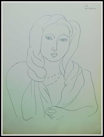 Lithographie Matisse - THEMES & VARIATIONS VII