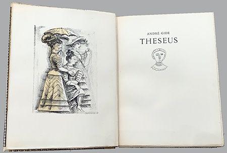 Livre Illustré Campigli - Theseus