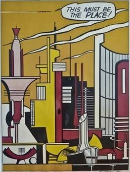Lithographie Lichtenstein - This Must Be The Place