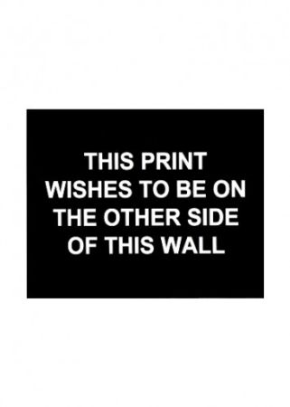 Gravure Prouvost  - This print wished to be on the other side of this wall