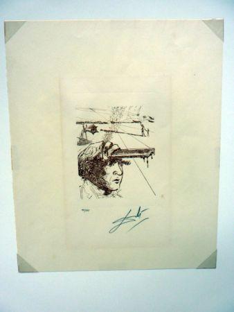 Gravure Dali - Thomas Edison