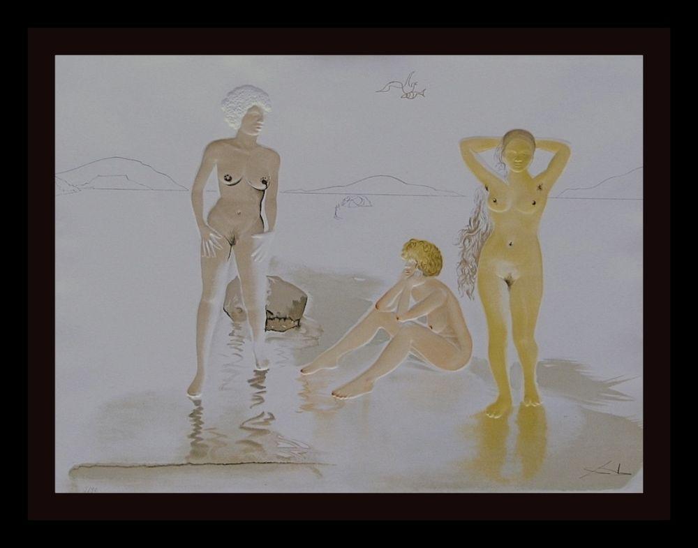 Gravure Dali - Three Graces of Cova d'Or