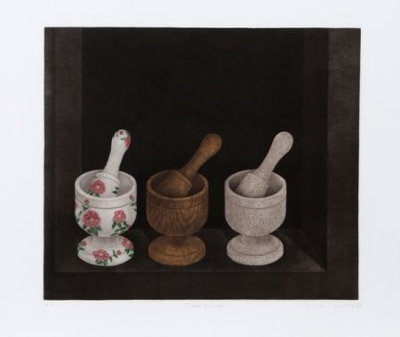 Manière Noire Hwang - Three Mortars and Pestle