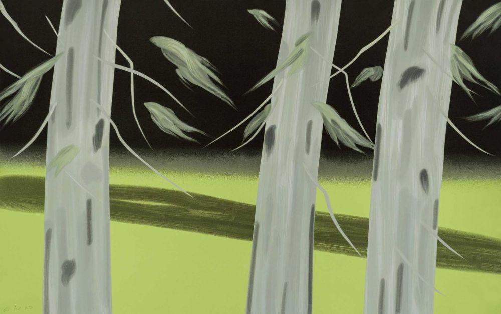 Sérigraphie Katz - Three Trees