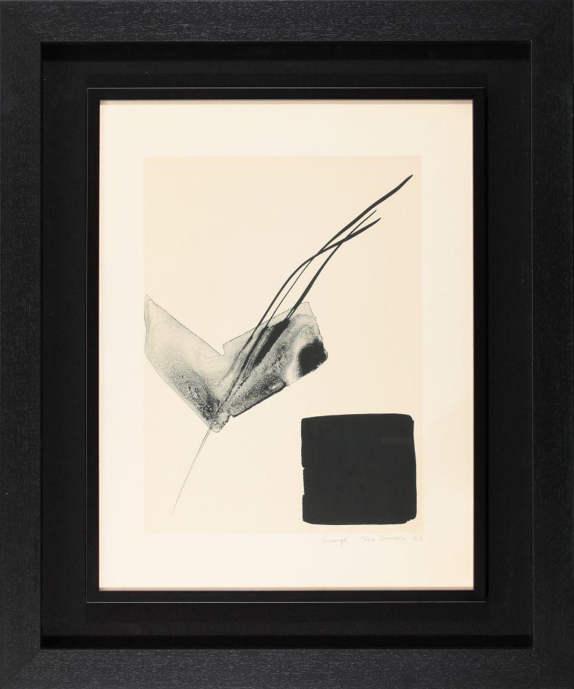 Lithographie Shinoda - Through