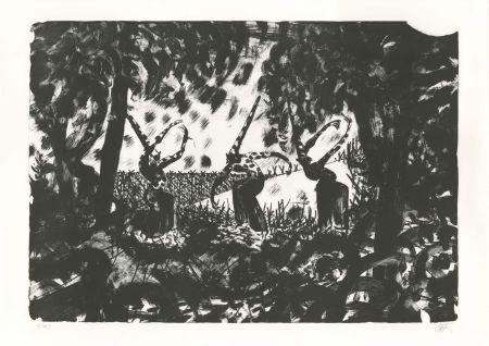 Lithographie Mattotti - Tiepolo - La Danse