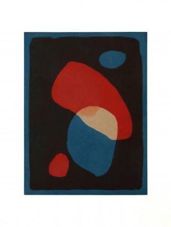 Aquatinte Treleaven - Times Square red, Times Square blue