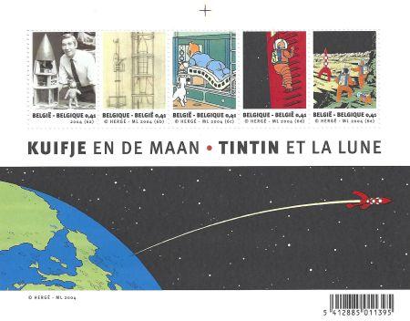 Intaglio Rémi - Tintin et la Lune