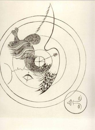Pointe-Sèche Toyen - Tir. Cycle de douze dessins. 1939-1940.