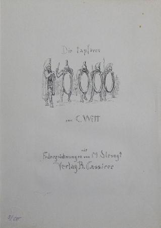 Lithographie Slevogt - Titel