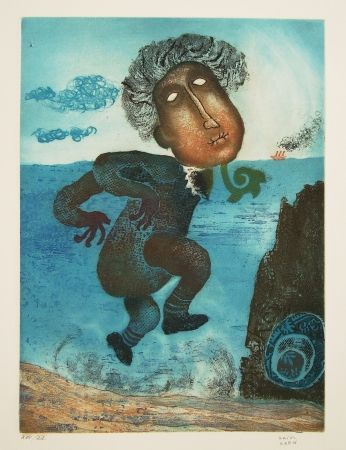 Eau-Forte Et Aquatinte Kern - Titre inconnu