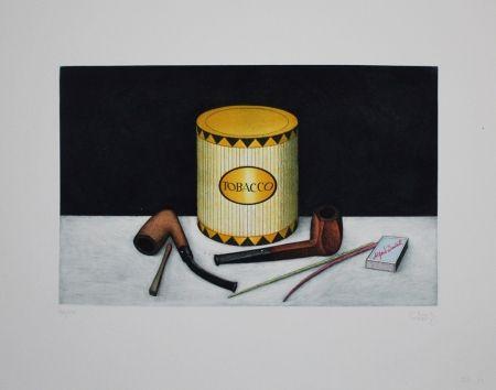 Eau-Forte Et Aquatinte Moritz - Tobacco