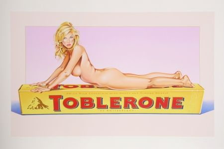 Lithographie Ramos - Toblerone Tess