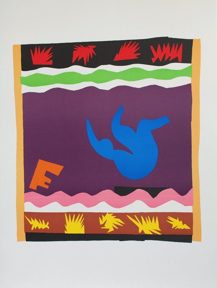 Collographie Matisse - Toboggan